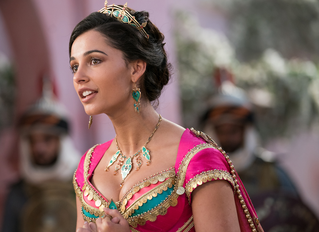 "Naomi Scott Is ""Speechless"" Over Inspiring And Timely 'Aladdin' Tune"